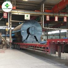 10T Waste Engine Oil Pyrolysis Oil Distillation Refining Machine To Diesel With PLC Sold to Benin/Suriname