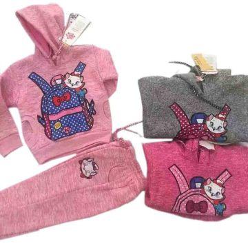 De la moda de impresión de bolsos niños deportivos desgaste en trajes de ropa de los niños Sq-17118