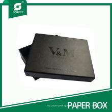 Benutzerdefinierte Schwarz Matt Spot UV Geschenk Karton für Anzüge