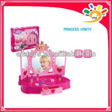 Mädchen Fantastische Schönheit Make-up Spiel Set Prinzessin Vanity Makeup Spielzeug mit Licht und Musik