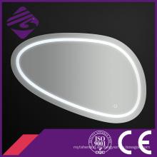 Jnh266 Irregular cosméticos lupa maquillaje espejo con luz LED