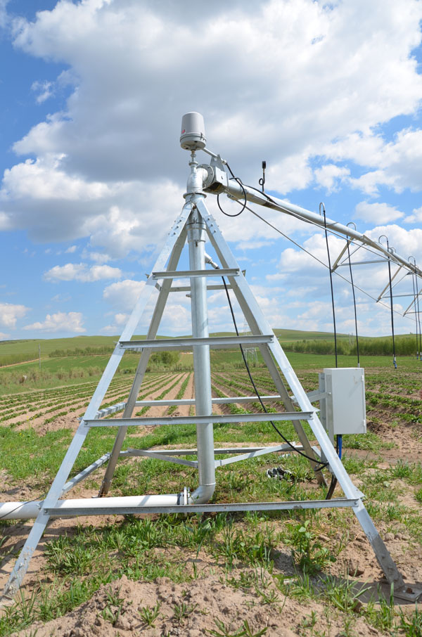 The Highest Performing Center Pivot Irrigation for farm