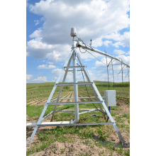 Increase crop yields use Center Pivot Irrigation System