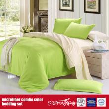 110GSM Cor Sólida Confortável Combo Microfiber Fronha