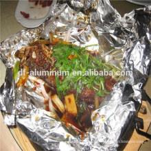Mantenga fresco Hoja de aluminio para cocinar