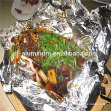 Держите свежую алюминиевую фольгу для приготовления пищи