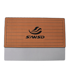 non-slip standing cushion shock absorber durable faux teak EVA heavy duty helm pad for boats