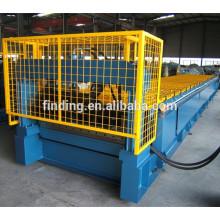 Automático completo galvanizado chapa de aço faz a máquina