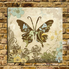 Retro Butterfly Canvas Painting Hot New Products For 2015