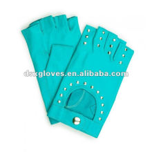 fashion fingerless leather gloves