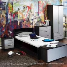 Ensemble de meubles de chambre à coucher à l'École économique (HF-EY08292)