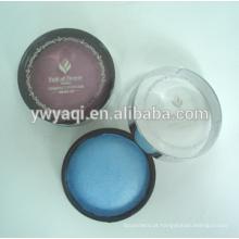 Pó compacto recipiente impermeável maquiagem pó compacto