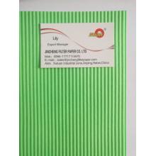 Papel de filtro de ar automotivo de serviço pesado