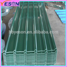 Placa de acero resistente al desgaste / cubierta de aluminio / material de techado