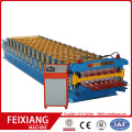 Dubbelskiktet Corrugated Steel Sheet Making Machine