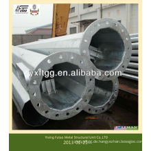 Gebrauchter Mast und Stahlstange