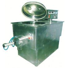 Granulador de mezcla de alta velocidad de la serie de 2017 GHL, proceso de la granulación de los SS, secador de vacío rotatorio del cono doble horizontal