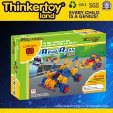El Mejor Juego Plastic Building Blocks Puzzle Juguetes para Niños