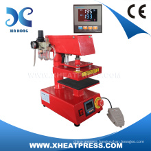 FJXHB1015 Mini Pneumatic Heat Press Machine, garment label printing machine, label printing machine
