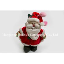 Фабричная поставка Chindren фаршированные плюшевые игрушки Санта