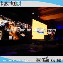 Mur visuel polychrome d'intérieur de l'écran HD SMD de l'écran P4.8 d'affichage à LED de fond disponibles à la vente