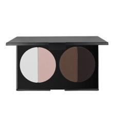 Paleta de blush multicolor de maquiagem