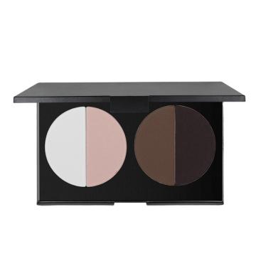 maquillaje paleta de colorete multicolor