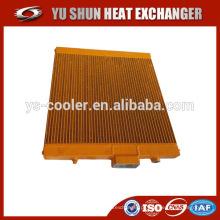 Resfriador de óleo do compressor de parafuso / resfriador de óleo para compressor de parafuso