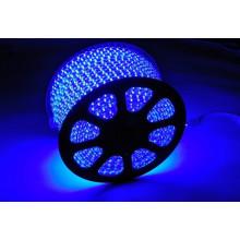 Iluminación Kingunionled 110v 220V Blanco / RGB impermeable SMD 5050 luz de tira de alto voltaje del LED