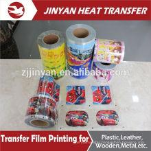 adhesive heat transfer printing film for plastic