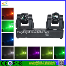 Good quality double heads 2*20W led moving head and price