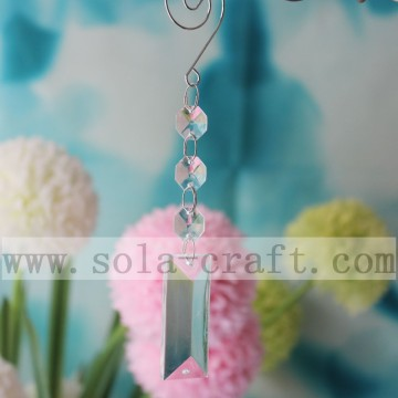 Charm gefacetteerde kristallen kroonluchter Lamp Dangle Drop Prisms