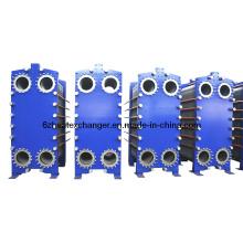 Intercambiador de calor de placas para refrigeración de aceite y agua (igual a M15 / M20)