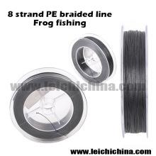 Ligne de pêche tressée de haute qualité à 8 brins