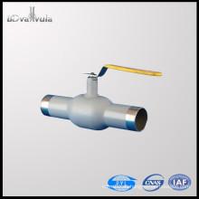 PYL Válvula de bola de soldadura Gas de petróleo CS RPTFE Válvula de bola PN25 PN40 DN15-300