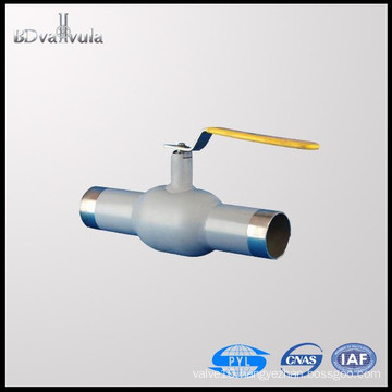 PYL Welding Ball Valve Oil Gas CS RPTFE Ball Valve PN25 PN40 DN15-300