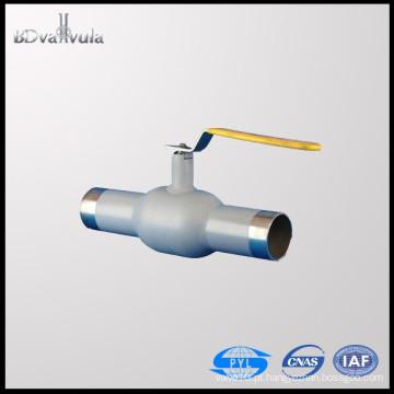 Válvula de esfera de soldadura PYL Gás de óleo CS Válvula de esfera RPTFE PN25 PN40 DN15-300