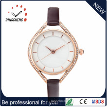 Novo OEM Japão Movimento Lady Watch com Waterproof