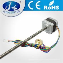 Motor de pasos lineal de impresora 3D, 42 mm * 42 mm * 34 mm, Tr8, pitch2mm con CE y ROHS