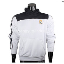 novo casaco de futebol confortável com a equipe do clube