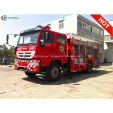 Exportar para Filipinas SINOTRUCK Water Foam Fire Truck