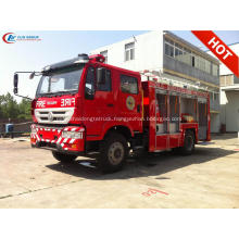 Export to Philippines SINOTRUCK Water Foam Fire Truck