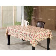 Toalha de mesa impressa de PVC com apoio não tecido (TJ0068C)