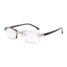 marcos de gafas ópticas sin montura hermosa fantasía