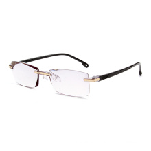 fancy beautiful rimless optical glasses frames