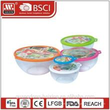 Plastic redondo Container(2.2L) de alimentos