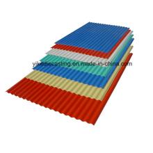Feuilles de toiture en plastique ondulé de PVC de prix bon marché