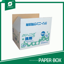 Double Wall Color Paper Packaging Box for Washing Powder Detergent Powder
