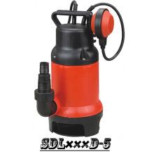(SDL400D-5) Piscina bomba sumergible con flotador para agua sucia