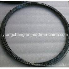 Fio do molibdênio do pulverizador do preto 99.95% Dia3.17mm do fabricante de China